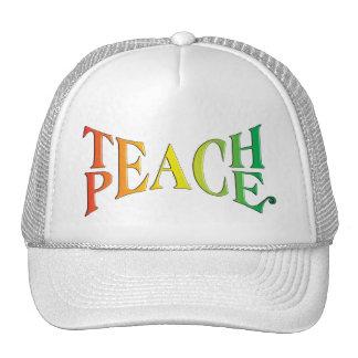 Teach Peace Hats