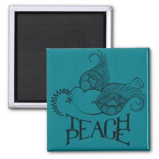 Teach Peace Magnet