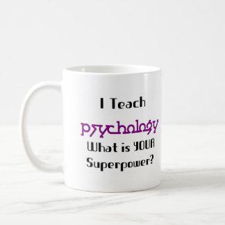 Teach psychology coffee mug