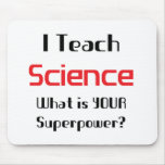 Teach science mouse pad