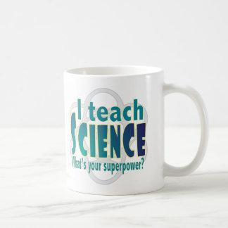 Teach science superpower coffee mug