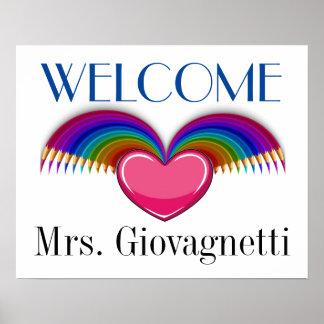Teacher / Anyone Welcome Poster