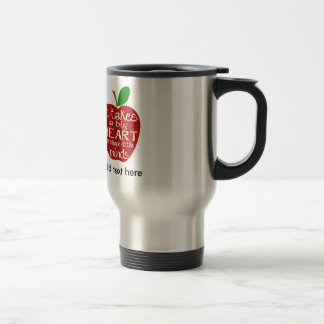 Teacher Apple Thank You Travel/Commuter Mug