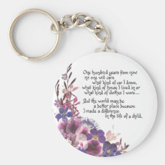 Teacher Appreciation Gift Key Ring