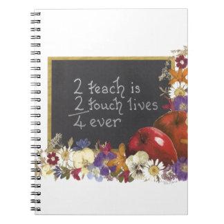 Teacher appreciation notebooks