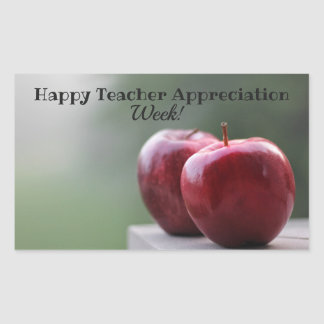 Teacher Appreciation Week Gift Tag Stickers