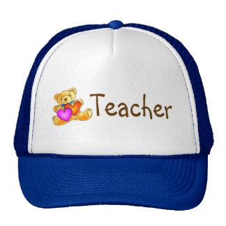 Teacher Bear Cap