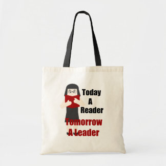 Teacher Book Lover Gal 2 Canvas Tote Bag