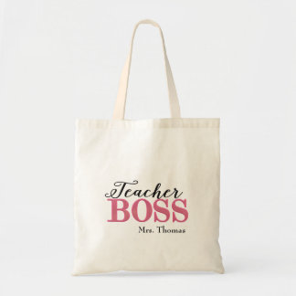 Teacher Boss Tote