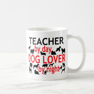 Teacher by Day Dog Lover by Night Coffee Mug