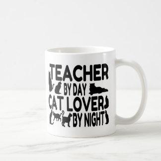 Teacher Cat Lover Coffee Mug