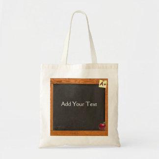 Teacher Chalkboard Budget Tote Bag
