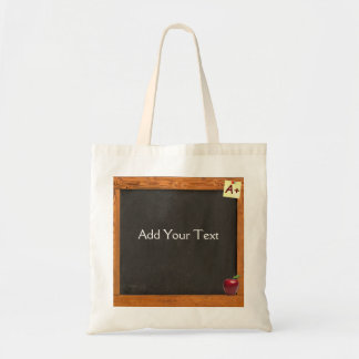 Teacher Chalkboard Tote Bag