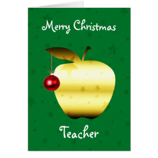 Teacher Christmas Card