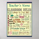 Teacher Class Room Rule Add Name Customise