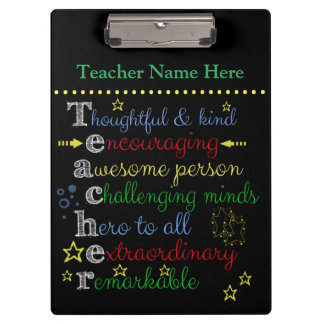 Teacher Clip Board Clipboard