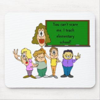 teacher_clipart_8, You can't scare me. I teach ... Mouse Pad
