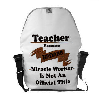 Teacher Courier Bag