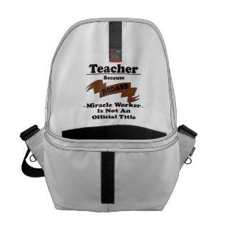 Teacher Courier Bags