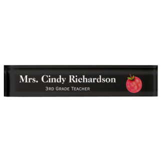 Teacher Desk Name Plate