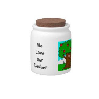 Teacher Gift Candy Jar
