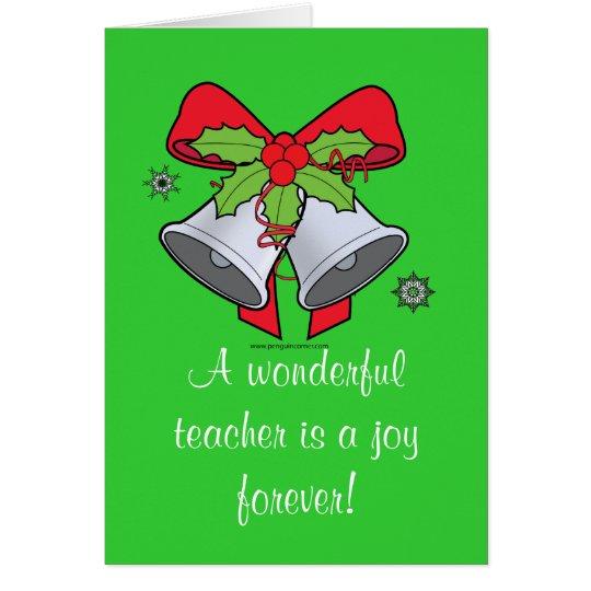 Teacher Holiday Card