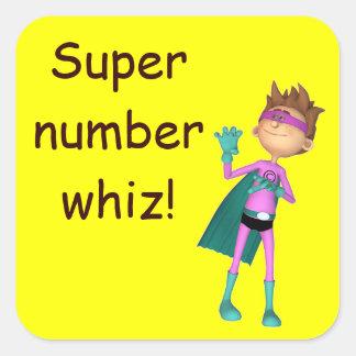 Teacher inspirational math sticker