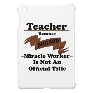 Teacher iPad Mini Covers