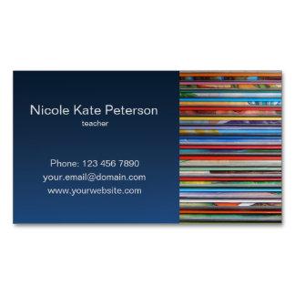 teacher magnetic business card