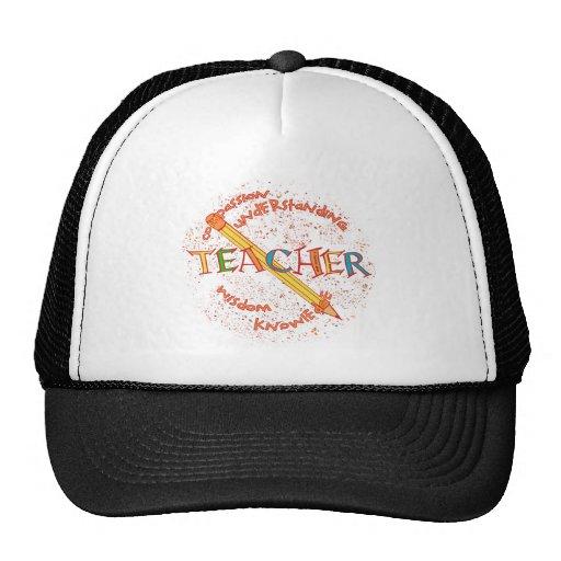 Teacher Motto Trucker Hats