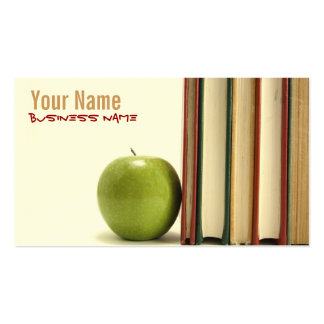 Teacher or Professor Business Cards