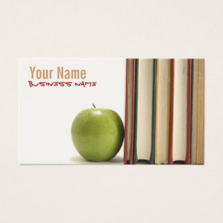 Teacher or Professor Business Cards