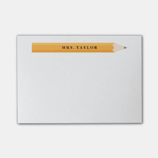 Teacher Personalized Post It Notes