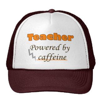 Teacher Powered by caffeine Cap