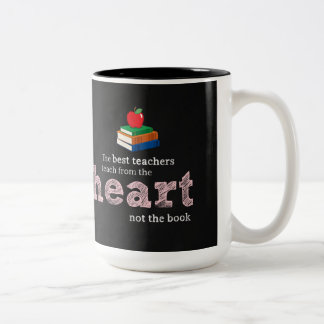 Teacher quote Two-Tone mug