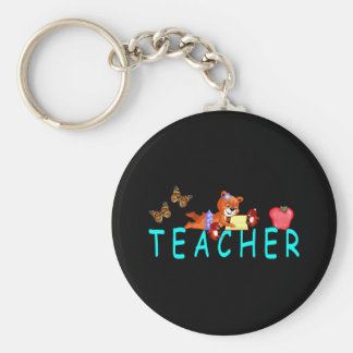 Teacher Reading Key Ring