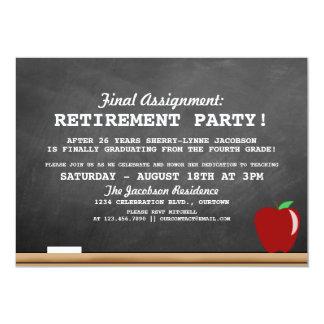Teacher Retirement Party Invitation
