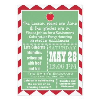 Teacher Retirement Party Invitation 2
