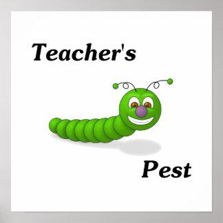 Teacher s Pest Poster