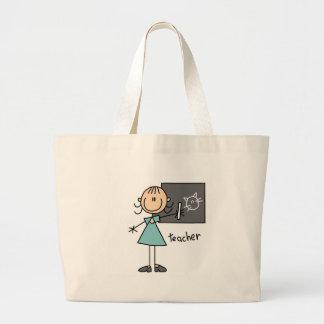 Teacher Stick Figure Bag
