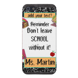 Teacher/Student School Theme Speck iPhone Case Cover For iPhone 5/5S