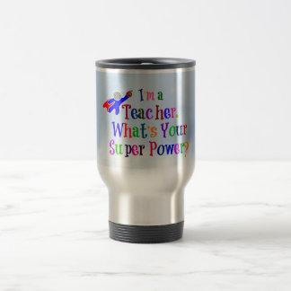 Teacher Superhero Travel Mug