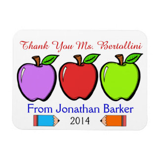 Teacher Thank You Magnet Magnets
