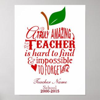 Thank You Teacher Posters   Zazzle.com.au