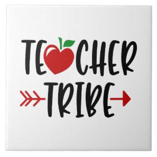 TEACHER TRIBE Apple And Arrow Tile