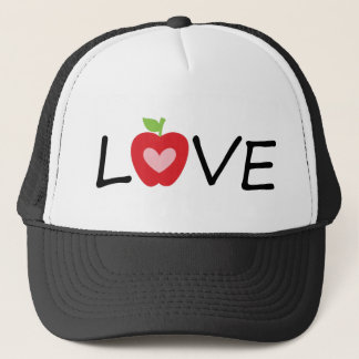 teacher trucker hat