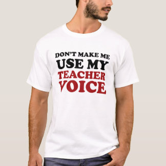 Teacher Voice Men's Shirt