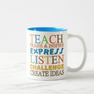 Teacher Words To Live Byy Coffee Mugs