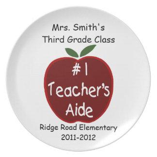 Teacher's Aide Plate