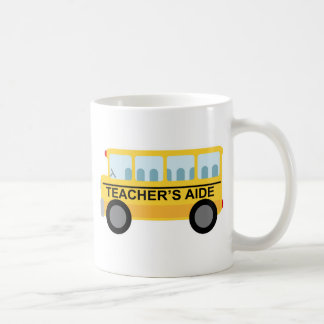 Teachers Aide School Bus Gift Coffee Mug